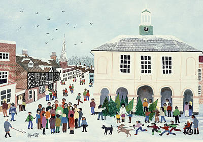 Godalming    Surrey Art Print by Judy Joel