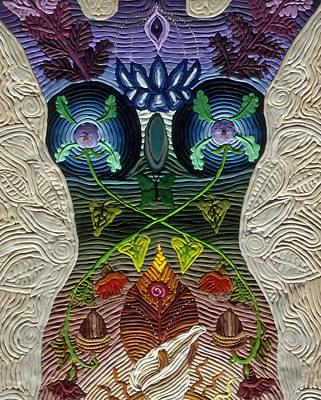 Godbody Print by Arla Patch