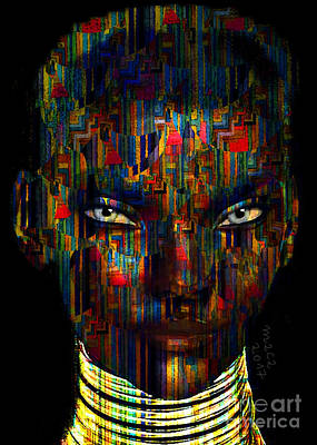 Painting - Goddess 569 by Maciej Mackiewicz