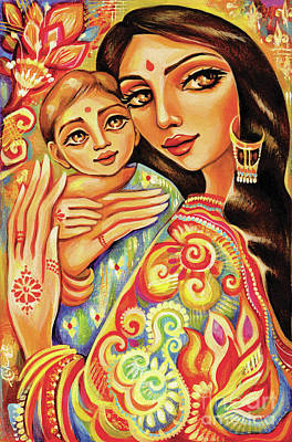Painting - Goddess Blessing by Eva Campbell