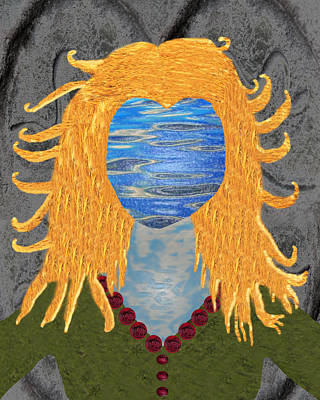 Goddess Digital Art Mixed Media - Goddess Brighid by Dora Hembree