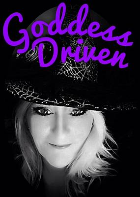 Photograph - Goddess Driven Witch  by Art Dingo