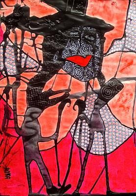 Archetype Painting - Flora - Goddess Of Beauty by Tetka Rhu