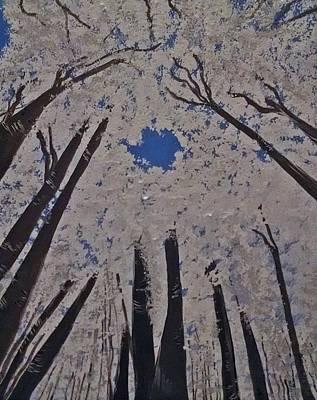 Painting - Goddess Forest by Clarissa Burton