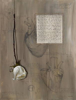 Goddess Leto Art Print by Kristin Llamas