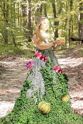 Photograph - Goddess Of Earth by Sharon Popek