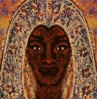 Goddess Of Faith Art Print