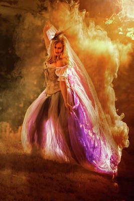 Photograph - Goddess Of Fire by Wes and Dotty Weber