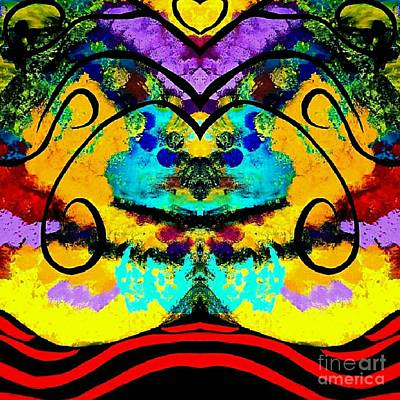 Goddess Of Love Original by Scott D Van Osdol