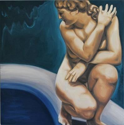 Goddess Of Love Art Print by Varvara Stylidou
