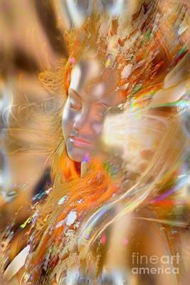 Goddess Photograph - Goddess Of Rainbows by Uldra Johnson