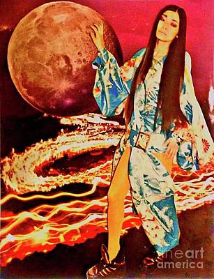 Photograph - Goddess Of The Moon by Elizabeth Hoskinson