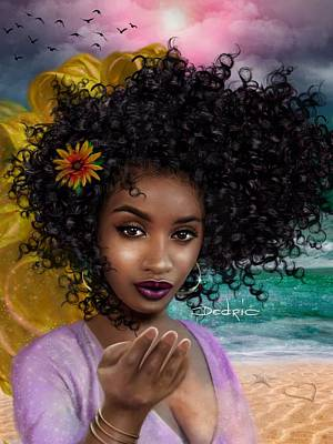 Digital Art - Goddess Oshun by Dedric Artlove W