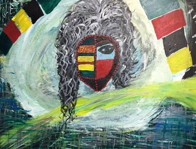 Painting - Goddess by Samimah Houston