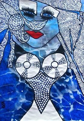 Archetype Painting - Sedna - Goddess Of Overcoming by Tetka Rhu