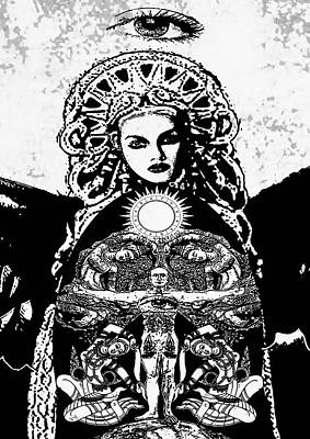 Goddess  Original by Stephen Humphries