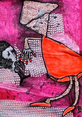 Archetype Painting - goDDess of Truth by Tetka Rhu