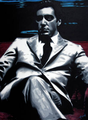 Painting - Godfather by Hood alias Ludzska