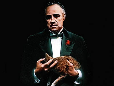 Mystery Digital Art - Godfather The Trilogy 1972-1990 by Fine Artist