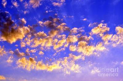 Photograph - Godlight In The Clouds by Rose  Hill