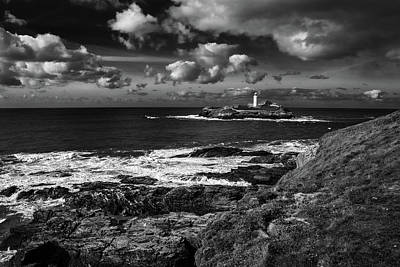 Godrevy Lighthouse 2 Art Print