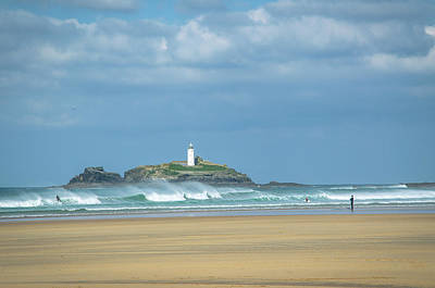 Photograph - Godrevy Lighthouse by Edyta K Photography