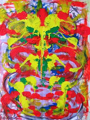 Alfredo Llana Painting - Gods And Elephants by Alfredo Dane Llana