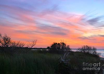 Photograph - God's Artistry On Pamlico Sound by Jean Wright