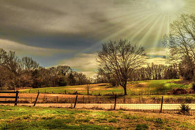 Photograph - God's Country - American Landscape by Barry Jones