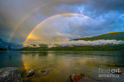 Kootenay Lake Photograph - God's Handiwork by Joy McAdams