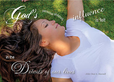 Photograph - Gods Influence by Denise Bird