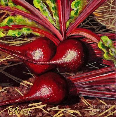 God's Kitchen Series No 2 Beetroot Art Print