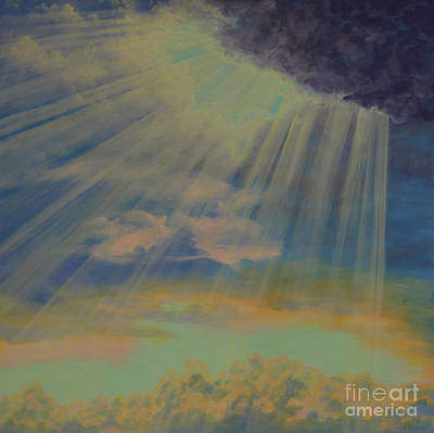 Painting - God's Light by Cheryl Fecht