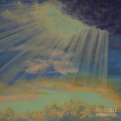 Painting - God's Light by Cheryl Fecht
