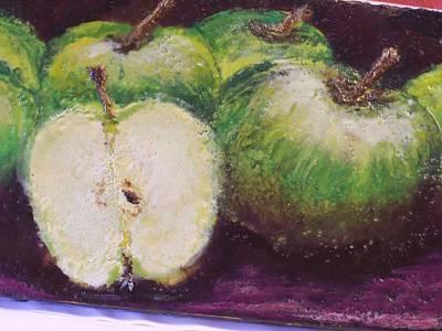 Gods Little Green Apples Art Print by Karla Phlypo-Price