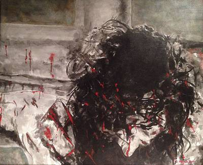 John 3.16 Painting - Gods Magnum Opus by Crystal Hayes