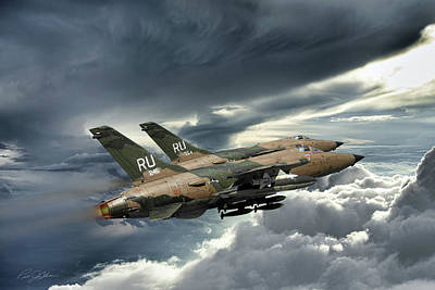 Air Force Digital Art - Gods Of Thunder by Peter Chilelli