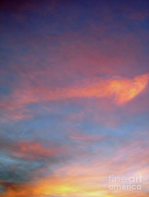 Photograph - God's Painting Of The Sky by D Hackett