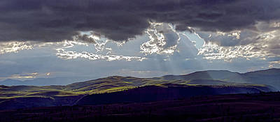 Photograph - God's Sky by Bruce J Barker
