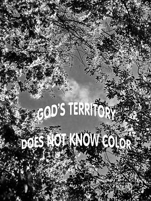 Photograph - God's Territory by Carol F Austin