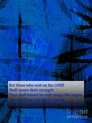 Isaiah Digital Art - Gods Truth For Life by Beverly Guilliams