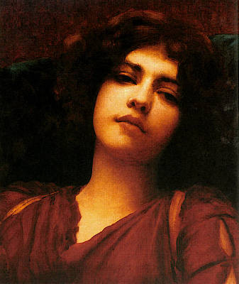 Painted Reveries Digital Art - Godward John William Reverie Study  by John William Godward