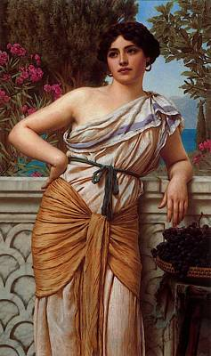 Painted Reveries Digital Art - Godward Reverie  by John William Godward