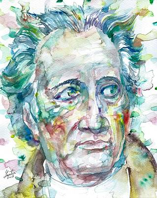 Painting - Goethe by Fabrizio Cassetta