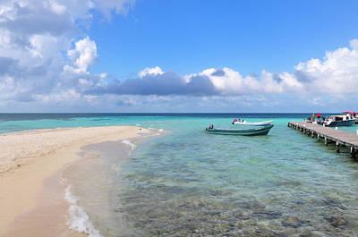 Photograph - Goff's Caye Island by Joel Thai