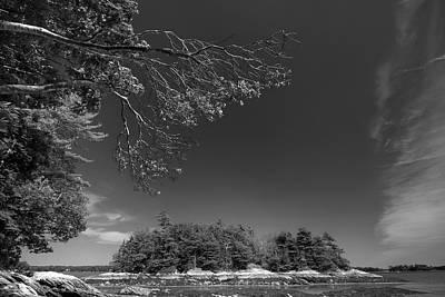 Digital Art - Goggins Island by Patrick Groleau