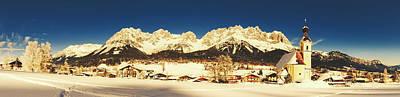 Photograph - Going Am Wilden Kaiser, Austria In Winter by Bernie