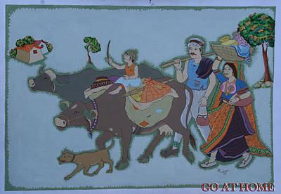 Going At Home Original by Jayantilal Ranpara