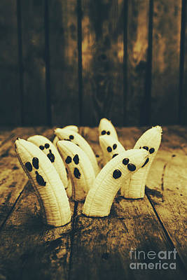 Tasty Photograph - Going Bananas Over Halloween by Jorgo Photography - Wall Art Gallery
