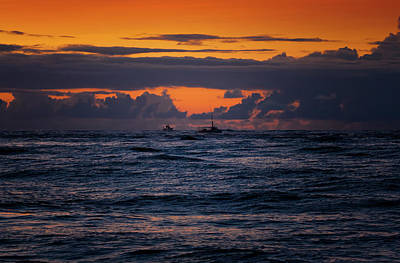 Photograph - Going Deep Sea Fishing On The Outer Banks by Dan Carmichael